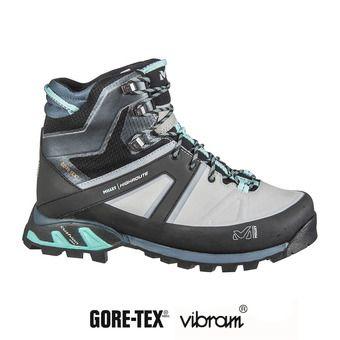 Millet HIGHROUTE GTX - Zapatillas de senderismo mujer high rise/aruba blue