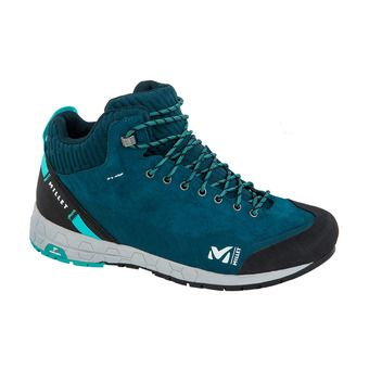 Millet AMURI LEATHER MID DRYEDGE - Zapatillas de aproximación mujer orion blue/indian