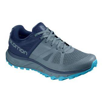 Salomon TRAILSTER GTX - Trail Shoes - Men's - bluestone/poseido