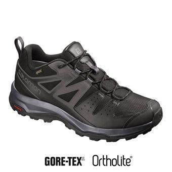 Salomon X RADIANT GTX - Chaussures randonnée Homme black/magnet/bk