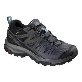Salomon X RADIANT GTX - Chaussures randonnée Femme gy/magnet/trell