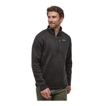Patagonia BETTER SWEATER - Polaire Homme black
