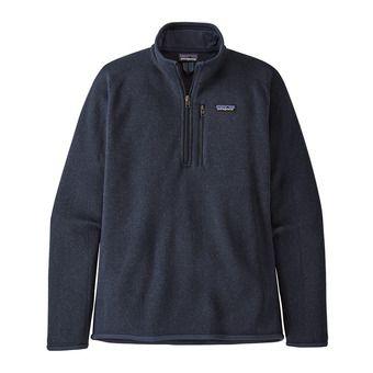M's Better Sweater 1/4 Zip Homme New Navy