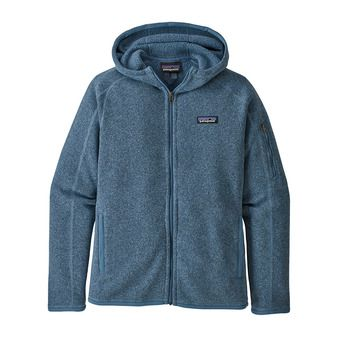 W's Better Sweater Hoody Femme Woolly Blue