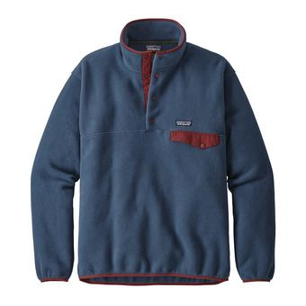 Patagonia LIGHTWEIGHT SYNCHILLA SNAP-T - Fleece - Men's - stone blue