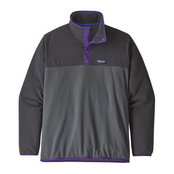 Patagonia MICRO D SNAP-T - Pull Homme forge grey