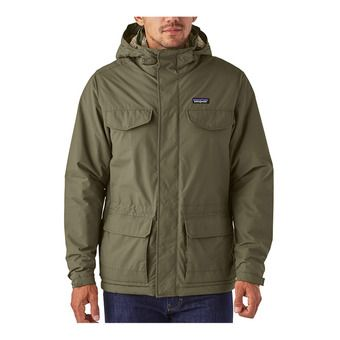 Patagonia ISTHMUS - Parka Homme industrial green
