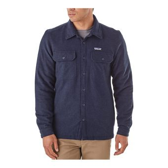 M's Insulated Fjord Flannel Jkt Homme Navy Blue