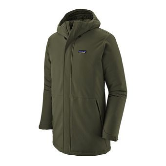 Patagonia LONE MOUNTAIN - Parka Jacket - Men's - alder green