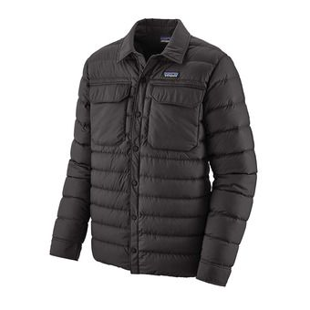 Patagonia SILENT DOWN - Anorak hombre black