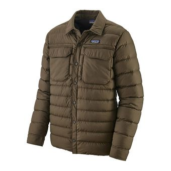Patagonia SILENT DOWN - Down Jacket - Men's - logwood brown