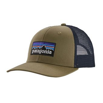 P-6 Logo Trucker Hat Unisexe Sage Khaki