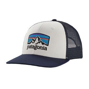 Fitz Roy Horizons Trucker Hat Unisexe White w/Classic Navy