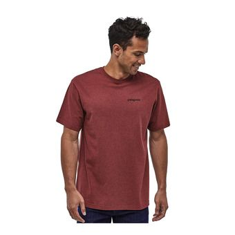 M's Fitz Roy Horizons Responsibili-Tee Homme Oxide Red