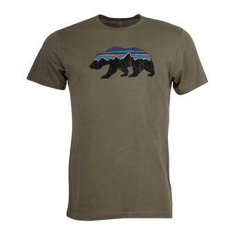 Patagonia FITZ ROY BEAR ORGANIC - Camiseta hombre sage khaki