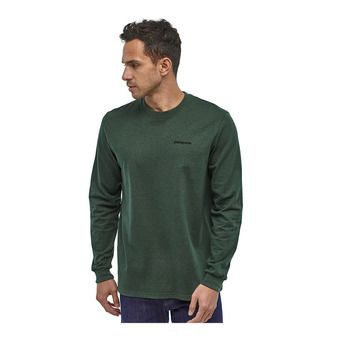 Patagonia P-6 LOGO RESPONSIBILI - Camiseta hombre alder green