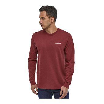 Patagonia P-6 LOGO RESPONSIBILI - T-shirt Uomo oxide red