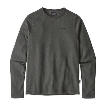 Patagonia P-6 LOGO LIGHTWEIGHT CREW - Sweatshirt - Men's - forge grey