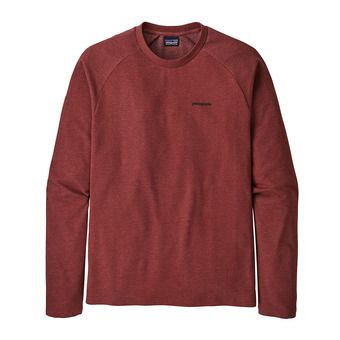 Patagonia P-6 LOGO LIGHTWEIGHT CREW - Sweat Homme oxide red