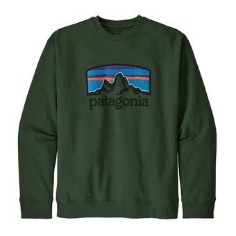 Patagonia FITZ ROY HORIZONS UPRISAL CREW - Sudadera hombre alder green