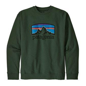 Patagonia FITZ ROY HORIZONS UPRISAL CREW - Sudadera hombre alder green