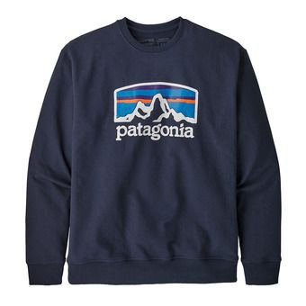 Patagonia FITZ ROY HORIZONS UPRISAL CREW - Sweat Homme classic navy
