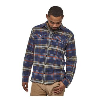 Patagonia FJORD FLANNEL - Camisa hombre defender/new navy