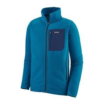 Patagonia R2 TECHFACE - Veste Homme balkan blue
