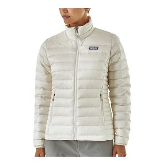 Patagonia DOWN SWEATER - Anorak mujer birch white