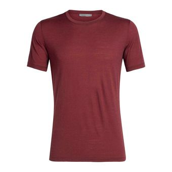 Icebreaker TECH LITE - T-Shirt - Men's - cabernet