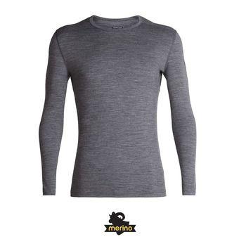 Icebreaker 200 OASIS - Camiseta térmica hombre gritstone hthr