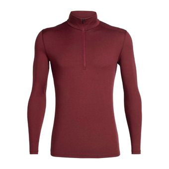 Icebreaker 200 OASIS - Base Layer - Men's - cabernet