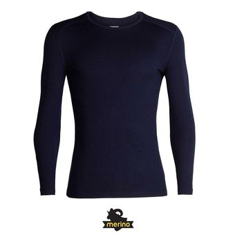 Icebreaker 260 TECH - Camiseta térmica hombre midnight navy