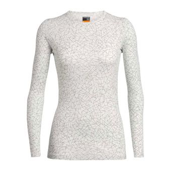 Icebreaker 200 OASIS - Base Layer - Women's - sky paths/snow