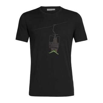 Icebreaker TECH LITE - T-Shirt - Men's - bear lift/black
