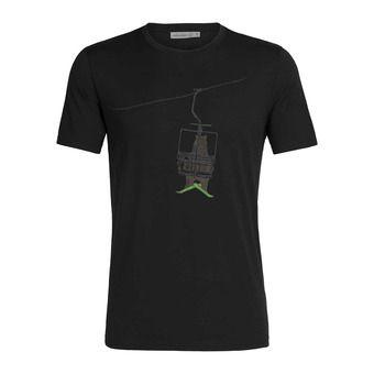 Icebreaker TECH LITE - T-shirt Uomo bear lift/black