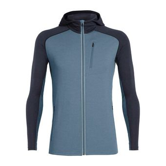 Icebreaker QUANTUM - Jacket - Men's - thunder/midnight navy