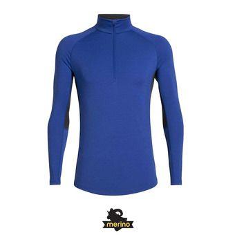 Icebreaker 200 ZONE - Camiseta térmica hombre surf/midnight navy
