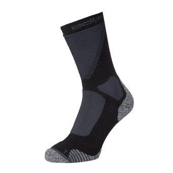 Odlo CERAMIWARM XC - Chaussettes black/odlo graphite grey