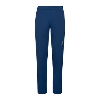 Odlo ELEMENT WARM - Pantalon ski Homme estate blue