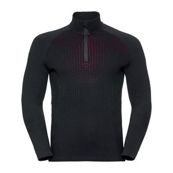 Pull 1/2 zip I-THERMIC Homme black
