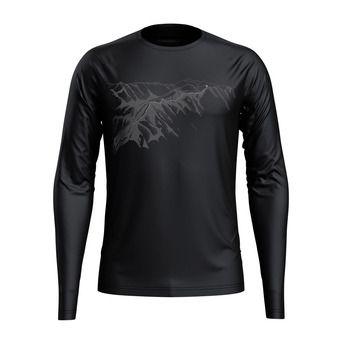 Odlo ALLIANCE - Camiseta hombre black/mountain print