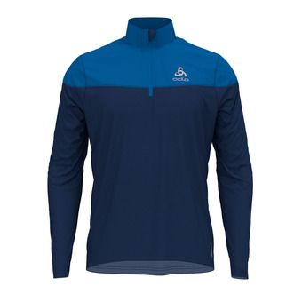 Odlo CERAMIWARM ELEMENT - Sweat Homme estate blue/directoire blue