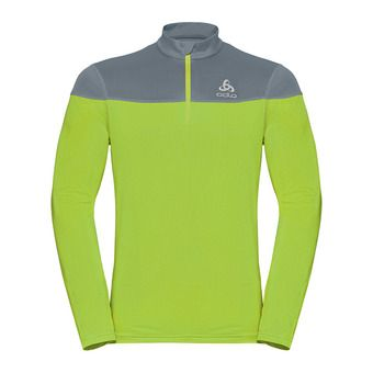 Odlo CERAMIWARM ELEMENT - Sweat Homme safety yellow/bering sea
