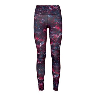 Odlo ELEMENT LIGHT AOP - Mallas mujer cerise multicolour