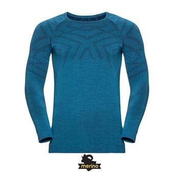 Odlo NATURAL KINSHIP - Camiseta térmica hombre niagara melange