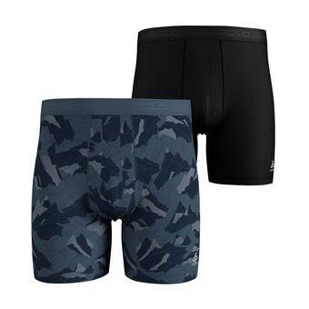 Odlo SUMMER SPLASH 2 - Boxer x2 Homme bering sea/mountain camo/black