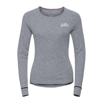 T-Shirt ML ACTIVE WARM Originals Femme grey melange