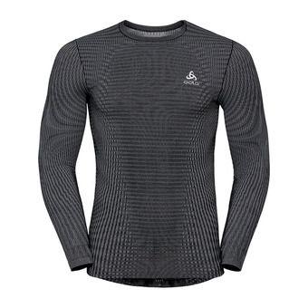 Odlo FUTURESKIN - Camiseta térmica hombre black/white
