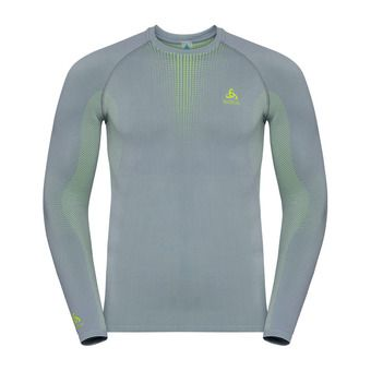 T-shirt ML PERFORMANCE WARM Homme tradewinds - safety yellow (neon)